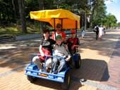 Pasivažinėjimai velomobiliais