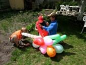 Kūrinys iš balionų
